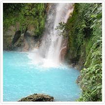 Rio Celest Waterfall