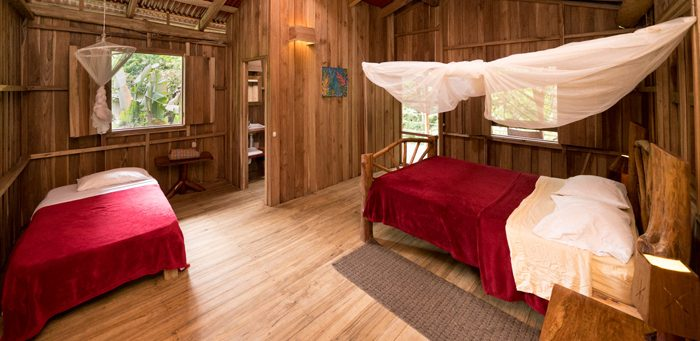 La Carolina Lodge, Heliconias